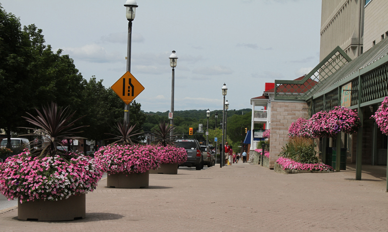 Municipal Hanging Flower Baskets : Could your town be as pretty garden proven winners